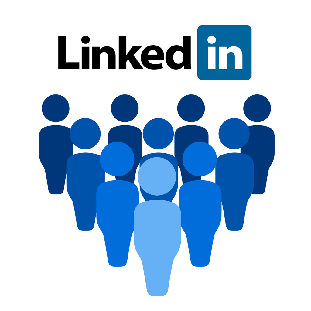 getting connected on linkedin