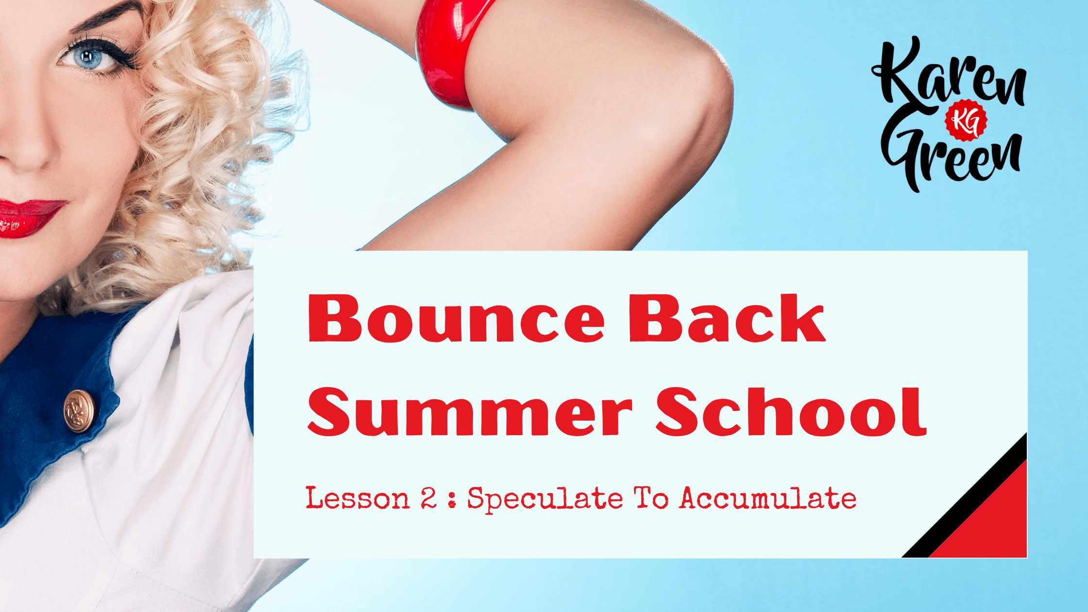 Bounce Back Summer School